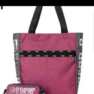 Victoria's Secret PINK Tech Tote Bag Pencil Case